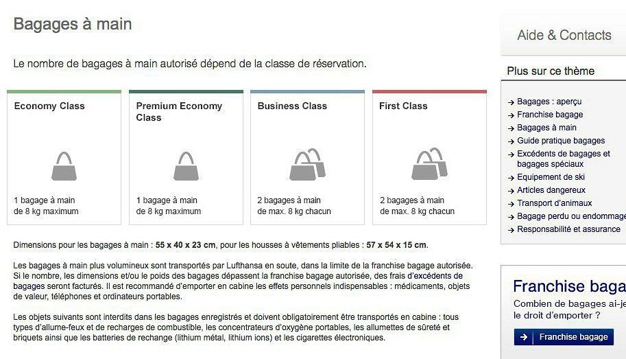 code promo bb7f9 5da73 Vérification du bagage cabine avec Lufthansa (page 2 ...