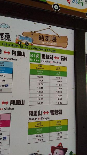 Trains entre Chiayi et Alishan (Taïwan)?   voyage en train > Taïwan