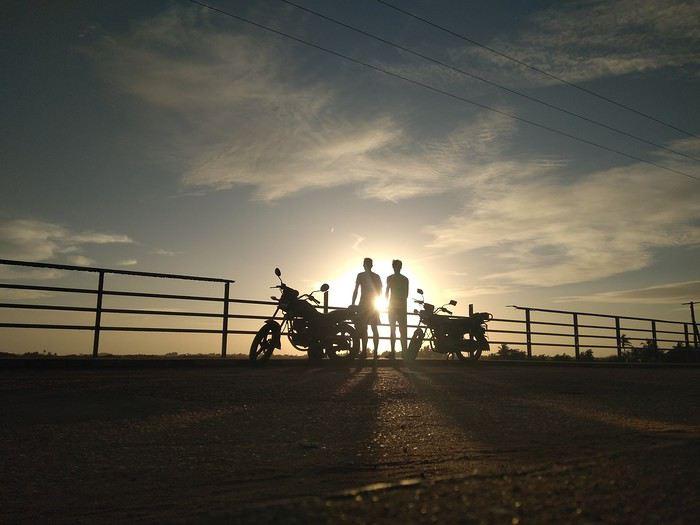 Tour du Bénin en moto - Diego-Houtart