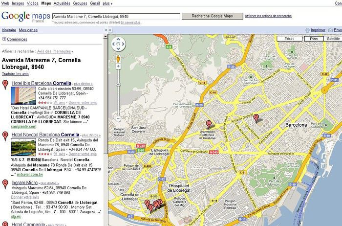 Carte Barcelone Sants.Hotel A Barcelone Proche De La Gare De Sants Forum