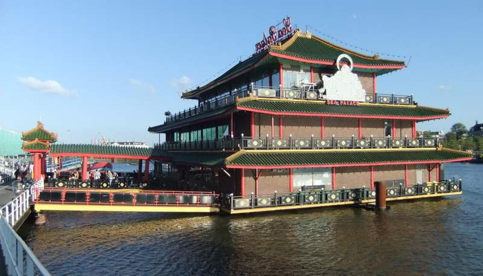 Restaurant Chinois Amsterdam Bateau