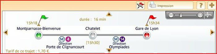 Paris Aller De La Gare Montparnasse A La Gare De Lyon Avec Enfants